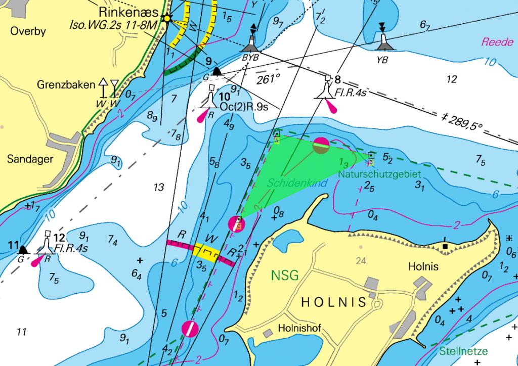 Kieler Bucht Karte.Nv Aktuell Ostsee Serie 1